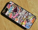 Koolart  American Muscle Car Theme Stickerbomb Style iPhone 5 5s Hard Case